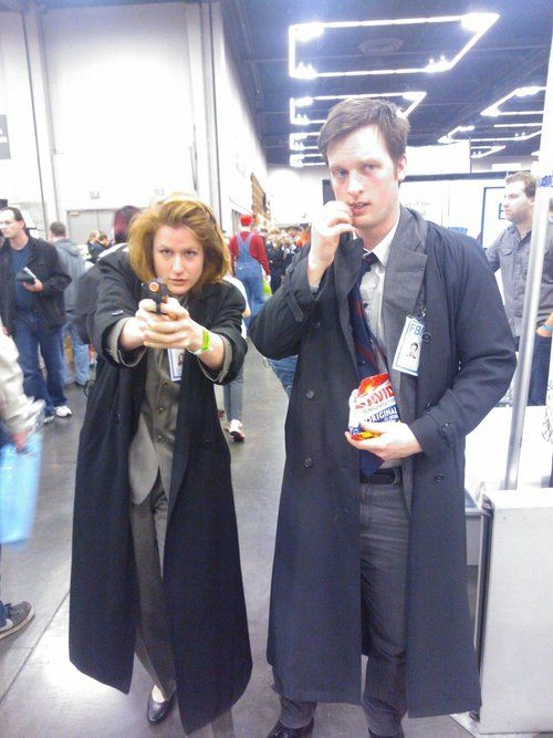 X files cosplay