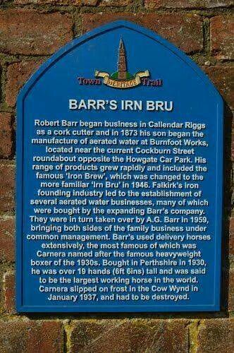 A history of irn bru in scotland