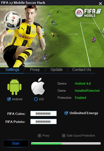 FIFA Mobile Soccer Hack v2.0 (Android/iOS)