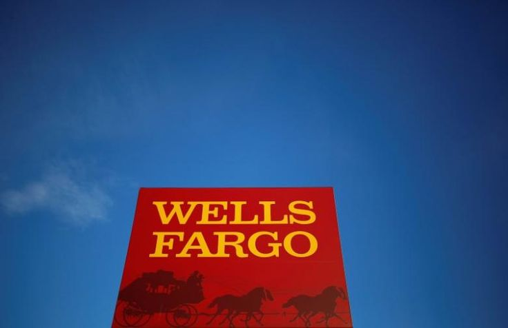 A Wells Fargo branch is seen in the Chicago suburb of Evanston, Illinois, U.S…