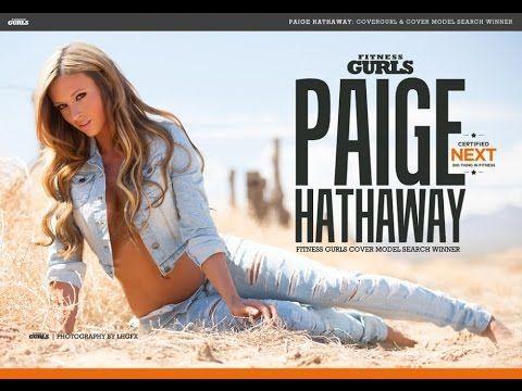 Paige Hathaway Fitness Model   Пейдж Хэтэуэй Фитнес Модель