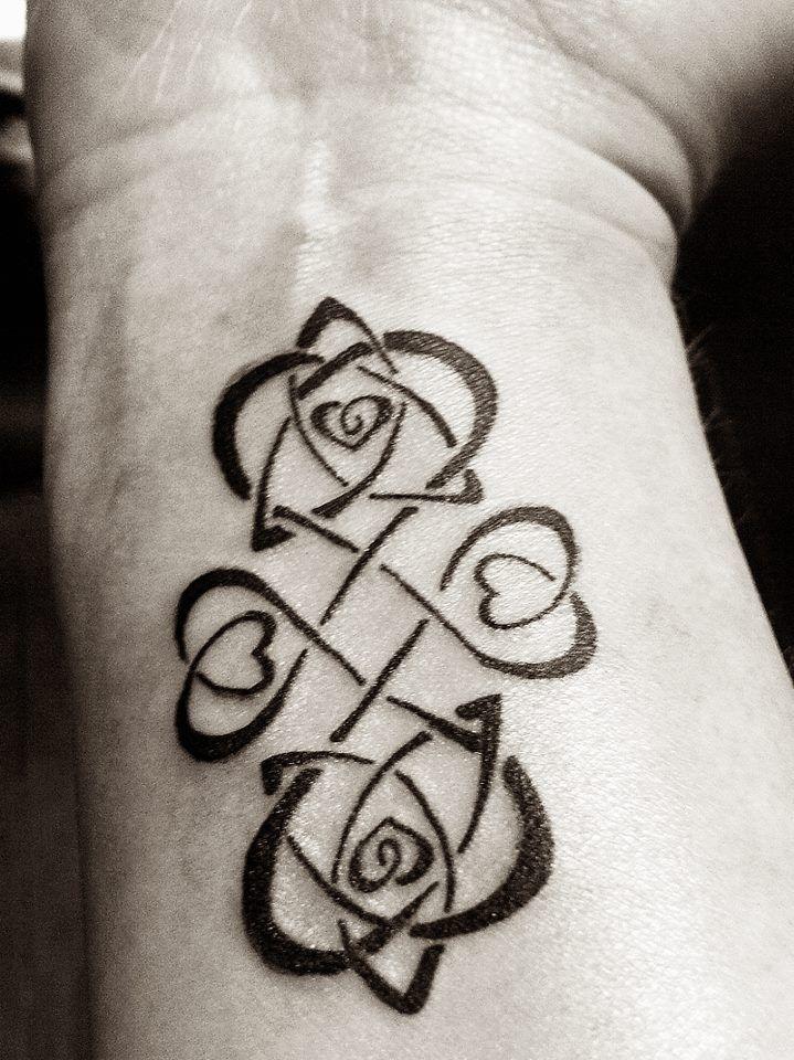 celtic wrist tattoos
