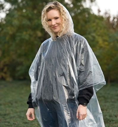 Clear Emergency Poncho
