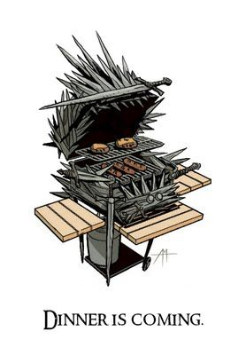 Game of Thrones barbeque
