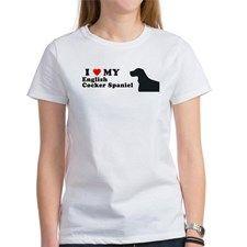 ENGLISH COCKER SPANIEL Womens T-Shirt