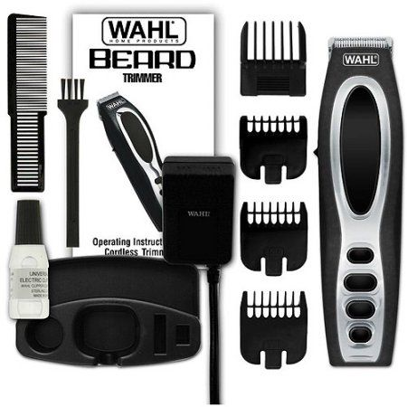Wahl Rechargeable Beard Trimmer, Black