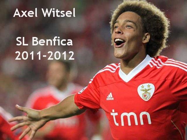 Melhores momentos de Axel Witsel no Benfica