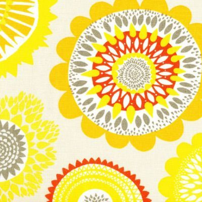 Siri Yellow Textured Linen Wide Width great for the van treight chair