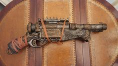STEAMPUNK gun Nerf Barrel Break toy gun For by IgnisFatuusBooks