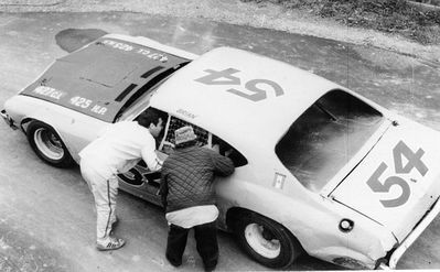 Canadian Racing Archives Project -- Last additions - Brain Settering at Delaware Speedway
