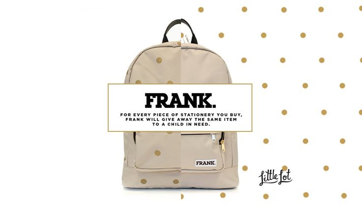 Little Lot | Change a child's future from Frank Stationery