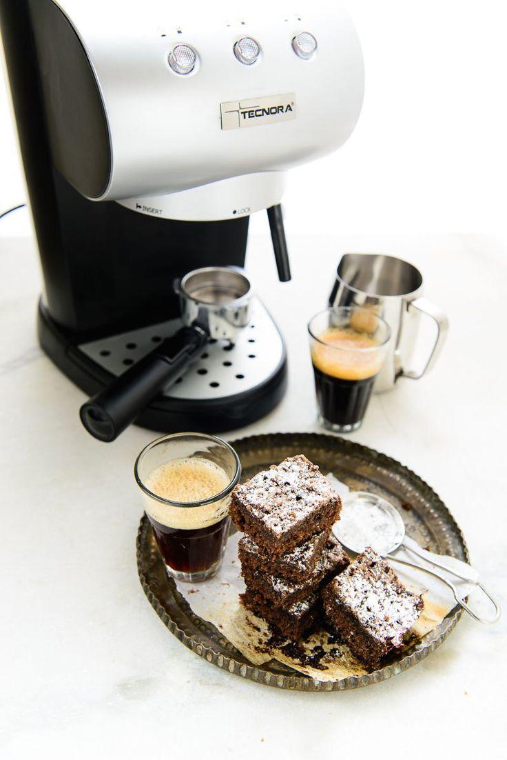 Espresso Oats brownies