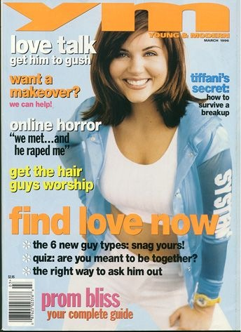Oh YM...I'm pretty sure I had a subscription to this..if not I definitely had every one (including this one!). How I loved Ms. Thiessen!