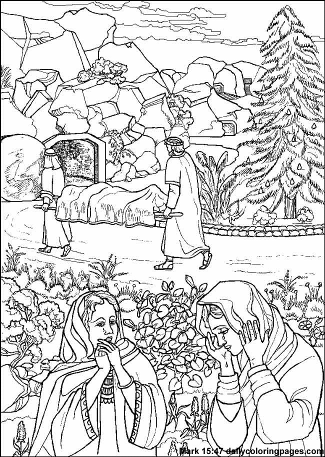 Coloring Pages Of Le Trees : 106 best images about le carême on pinterest