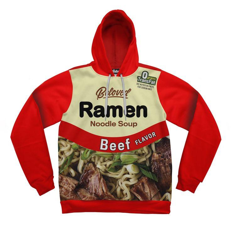 Beloved Shirts presents the Beef Ramen Hoodie