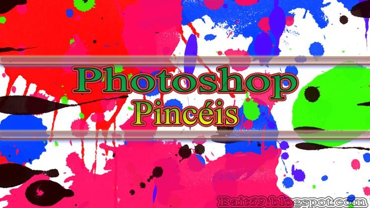 Pincéis de Respingo de Tinta para Photoshop | Bait69blogspot