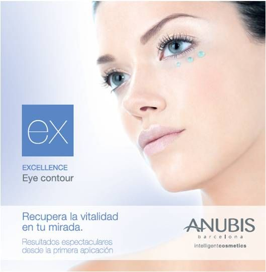 Excellence Eye Contour: Specific treatment that drains, strained and prevents premature aging around the eyes // Tratamiento específico que drena, tensa y previene el envejecimiento prematuro del contorno de ojos.