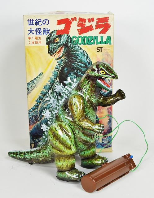 Bullmark Godzilla Battery Operated Toy 01 by toyranch, via Flickr