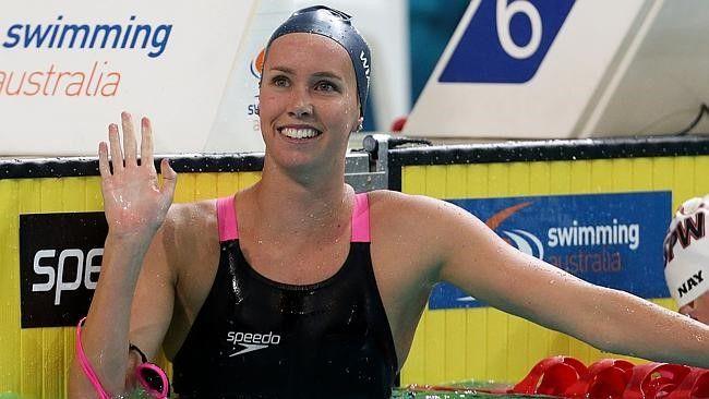 Emma Mckeon. Australian Swim Team