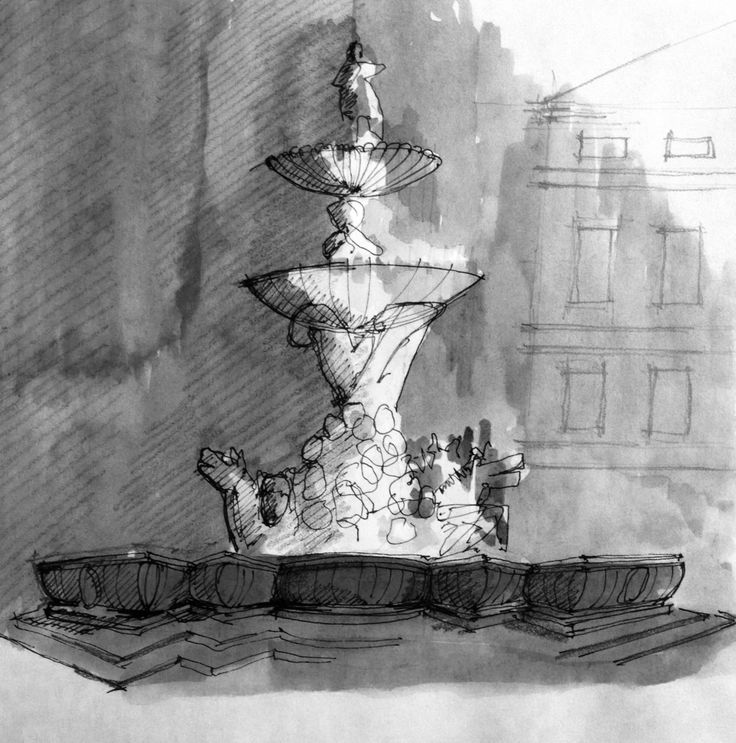 Salisburgo fountain