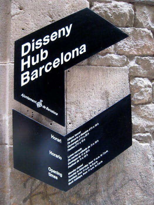 Sign Design / Barcelona