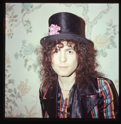 T-Rex: Marc Bolan by Danny Fields, ca 1973
