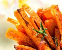 Frites de patates douces : http://www.cuisineaz.com/recettes/frites-de-patates-douces-35730.aspx