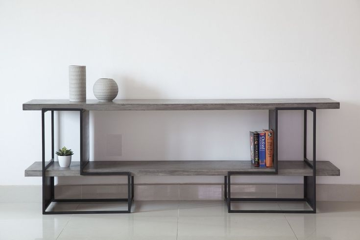 Vega Concrete TV Unit - Cabinets - Furniture Maison... - 2