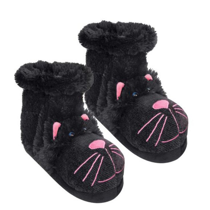 124 Best Cat Slippers Images On Pinterest Crib Shoes