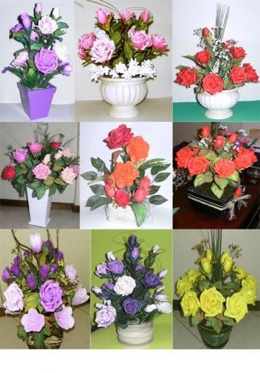 flores de EVA Más
