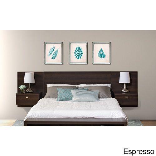 Details About Black Queen Wall Headboard Designer Bedroom