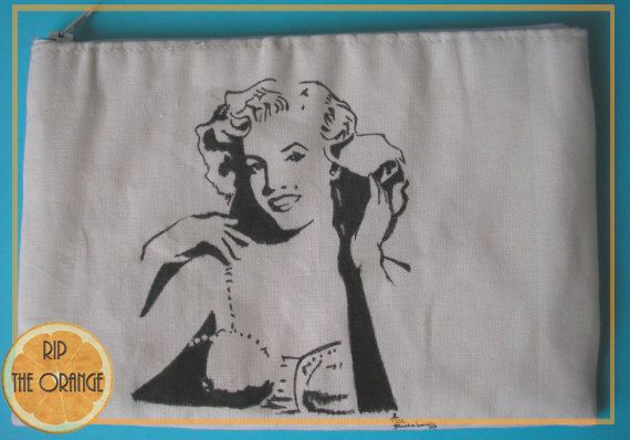 Marilyn Monroe Pouch, Handbag, Small Bag, Case
