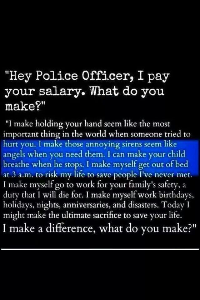 & that's why I love officers.