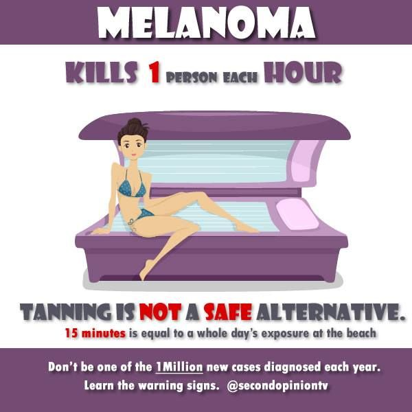 effect of tanning booth Health professionals warn against using tanning beds or booths to relieve seasonal affective disorder symptoms.