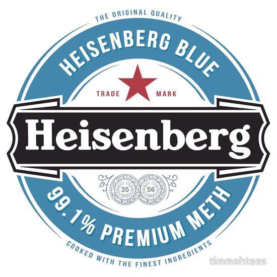 Heisenberg blue sticker ~ Breaking Bad