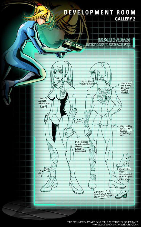 Metroid Zero Mission Concept Art - Imgur