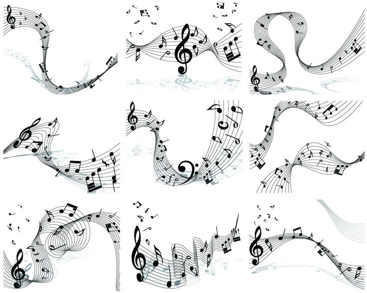 Musical Note Set3