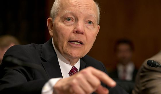 IRS breaking federal law in paying contracts to tax cheats: audit (AP Photo/Jacquelyn Martin, File)