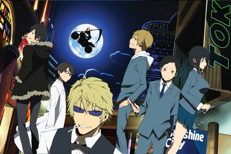 X2  is the sequel to the previous Durarara anime, it takes place 6 months after the events of the original. Description from animepowerlevel.com. I searched for this on bing.com/images