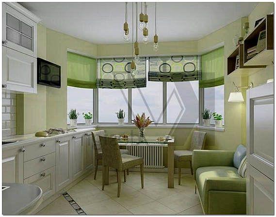Дизайн кухни с эркером: основные советы по созданию интерьера | строительство и ремонт, организации и материалы