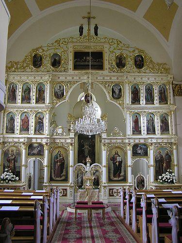Byzantine Catholic Church in Bardejov // Gréckokatolícky chrám v Bardejove by www.grkat.net