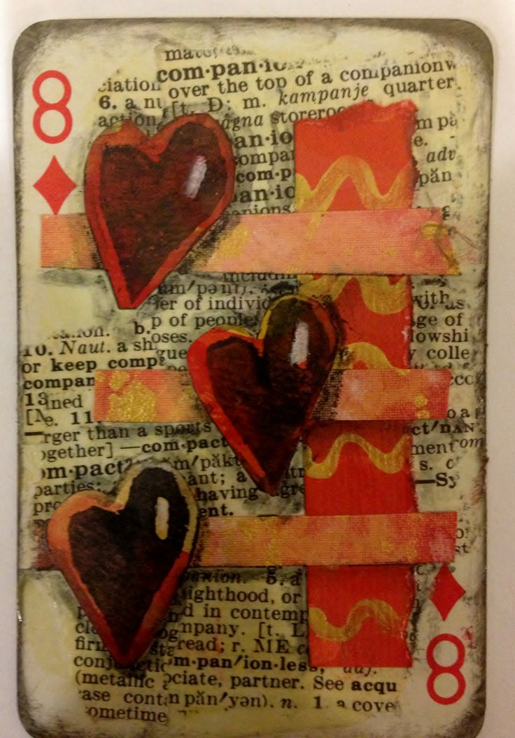 Altered Playing Card/ATC/ACEO