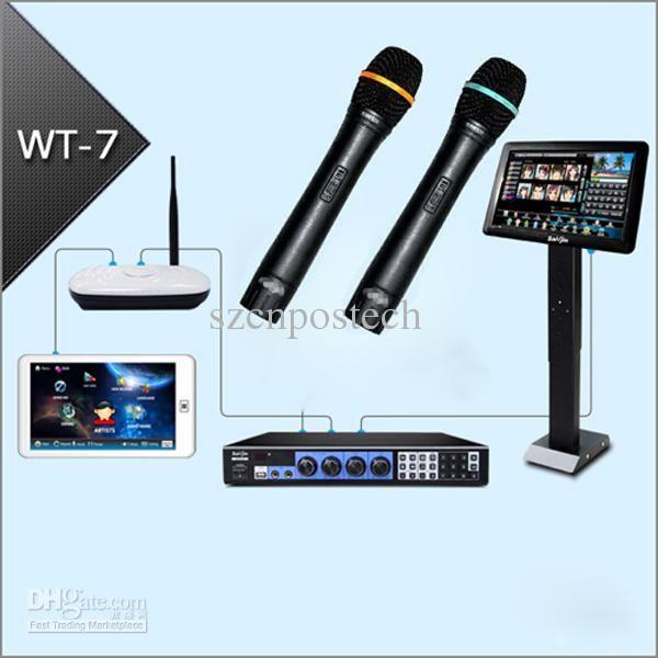 Professional KARAOKE machine Jukebox 3TB HD +Wired Microphones +19