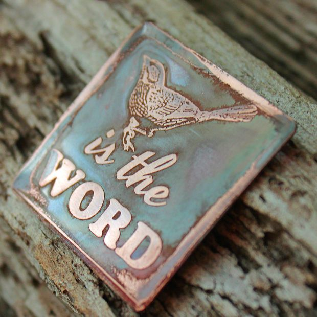 How to beautifully (and easily) etch copper.