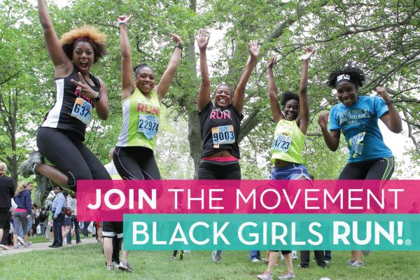 Always excited when I see these shirts: Black Girls RUN! Baltimore at Philadelphia