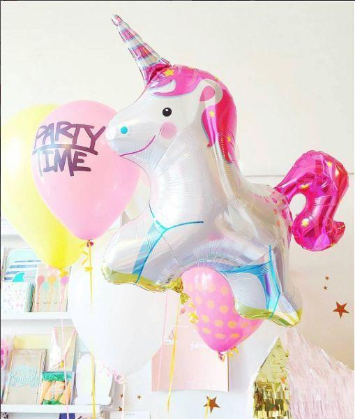"""36"""" unicorn balloon"""