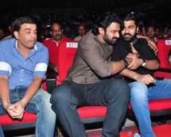 Prabhas Pics At Express Raja Audio Launch