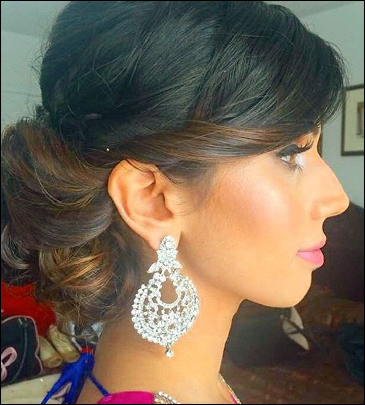 1000+ Ideas About Indian Bridal Hairstyles On Pinterest