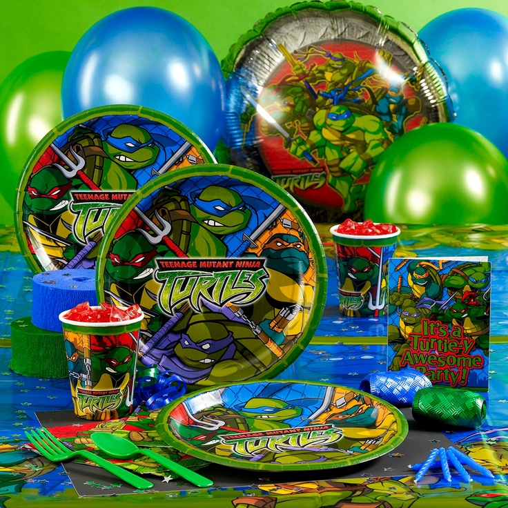 17 Best Images About TMNT Birthday Party On Pinterest