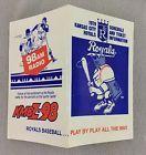 For Sale - 1979 Kansas City Royals Baseball Pocket Schedule - KMBZ-98 - http://sprtz.us/RoyalsEBay